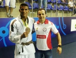 Renglis Xavier judo (Foto: Arquivo pessoal Ricardo Sérgio)