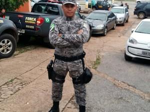 Soldado Hélio Andrade (Foto: Reprodução/Facebook/Hélio Andradde)