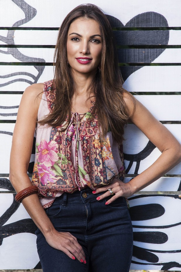 Patricia Poeta (Foto: Globo/Sergio Zalis)