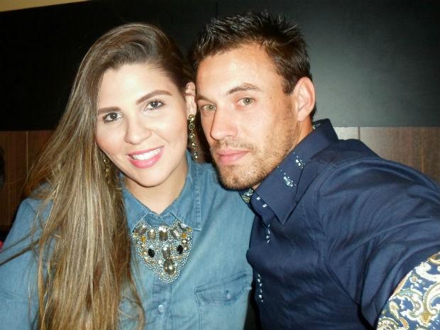 Rafael Nunes e Clarissa Couto namoram há dois meses (Foto: Arquivo pessoal)