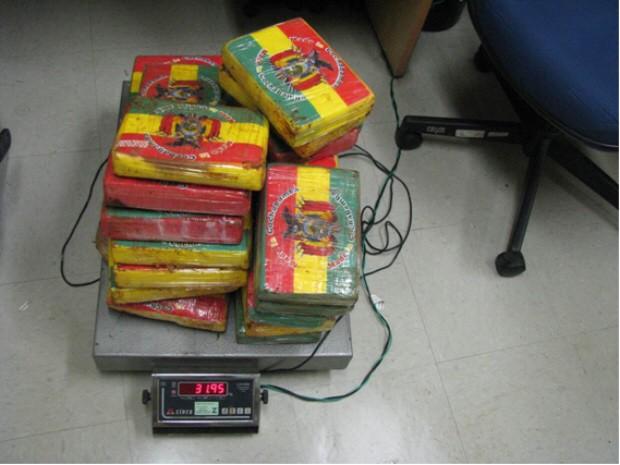 Polícia Federal faz apreensões de cocaína na Baixada Santista (Foto: Divulgação/Polícia Federal)