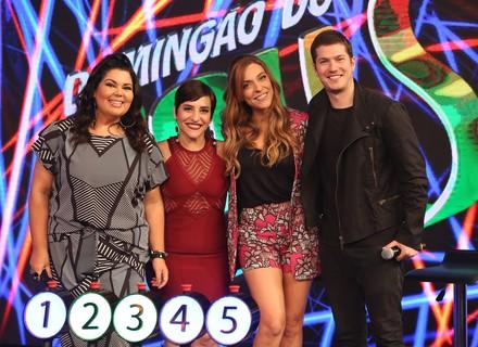 Júlia Rabello e Caio Paduan enfrentam Simone Gutierrez e Fabiana Karla no 'Ding Dong'