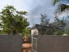 Depósito de escola fica parcialmente queimado após incêndio, em RO