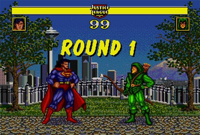 Justice League Task Force foi primeiro jogo de luta da DC (Foto: Divulgação)