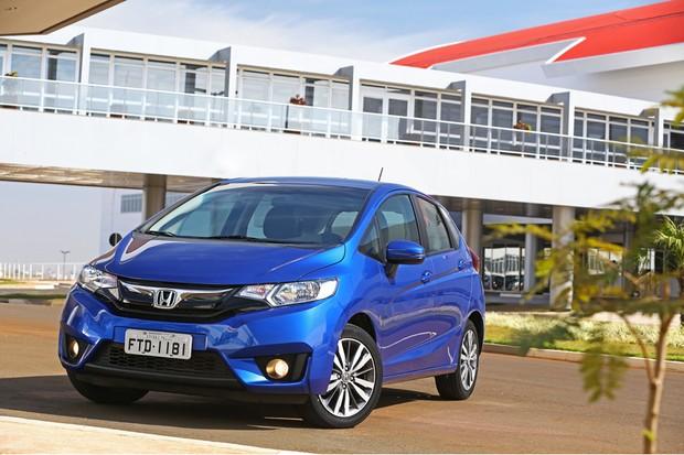 Honda Fit 2016 (Foto: Divulgação)