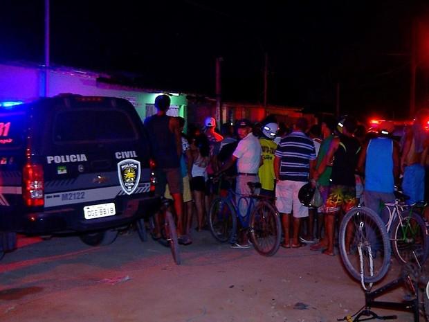 Crime aconteceu neste domingo (28) em Parnamirim, na Grande Natal (Foto: Reprodução/Inter TV Cabugi)
