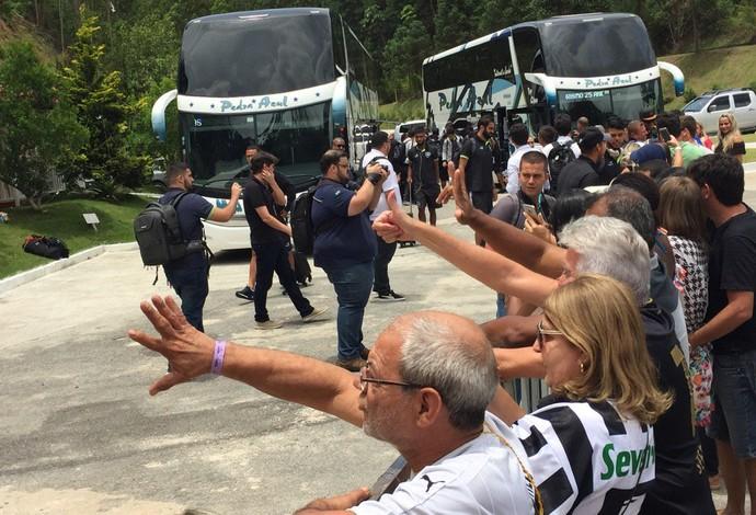 Botafogo em ES (Foto: Thiago Lima)