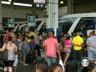 Passageiros enfrentam até 4 horas de atraso na Rodoviária Novo Rio