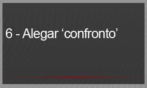 "6 – ALEGAR ""CONFRONTO"" (Foto: G1)"
