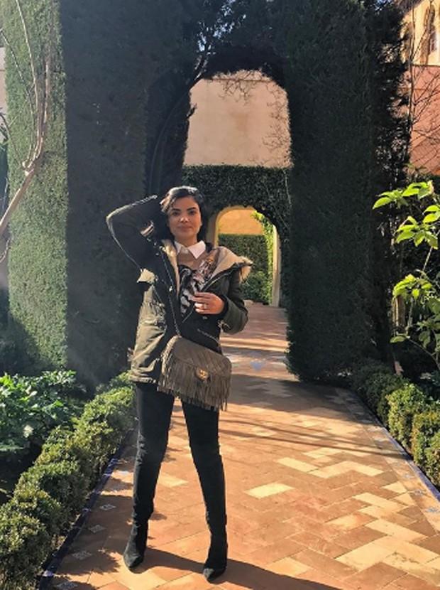 Vanessa Giácomo em Sevilla, na Espanha (Foto: Reprodução/Instagram)