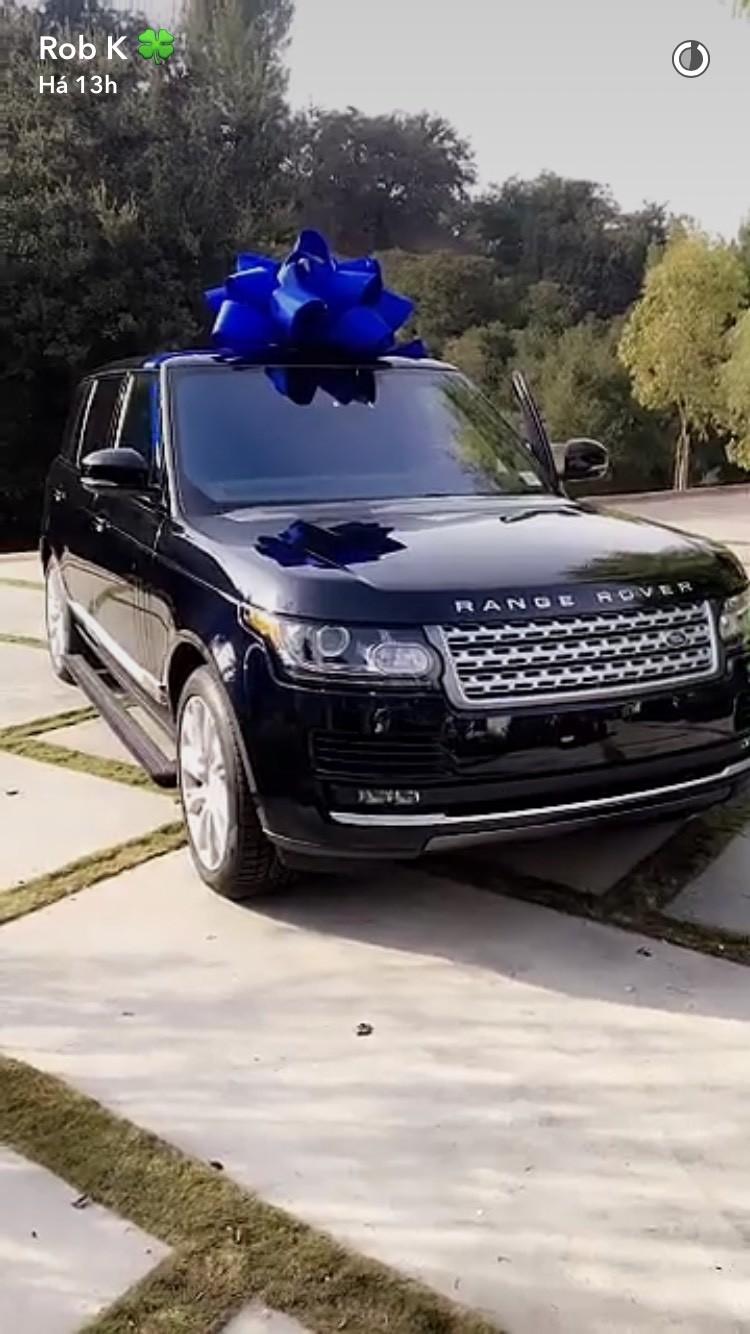 Que tal o novo carro de Rob Kardashian? (Foto: Reprodução)