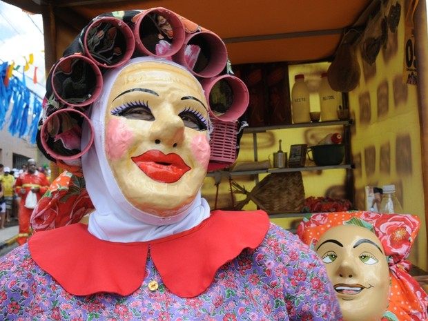 Papangus são personagens históricos do Carnaval de Bezerros (Foto: Divulgação/ Ascom Prefeitura de Bezerros)