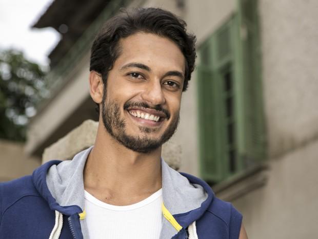 O ator deixa de lado a vilania de seu último papel para encarnar um cara bonzinho em 'Império' (Foto: Inácio Moraes/Gshow)
