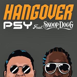 Capa do novo single de Psy, 'Hangover', com participação de Snoop Dogg (Foto: Divulgação)