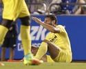 Soldado, concorrente de Pato no Villarreal, pode ter lesão séria no joelho