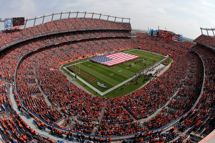 Sports Authority Field Denver Broncos NFL (Foto: Doug Pensinger / Getty Images)