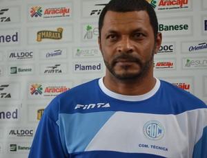 Nadélio Rocha quer o titulo neste domingo (Foto: Felipe Martins/GLOBOESPORTE.COM)