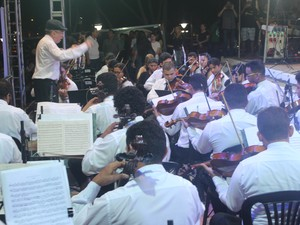 Orquestra Sinfônica de Teresina (Foto: Ellyo Teixeira/G1)