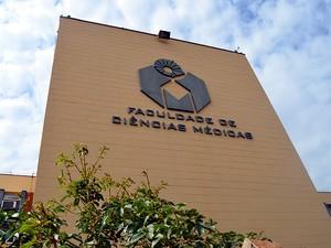 Faculdade de Medicina da Unicamp em Campinas (Foto: Lucas Jerônimo/G1)