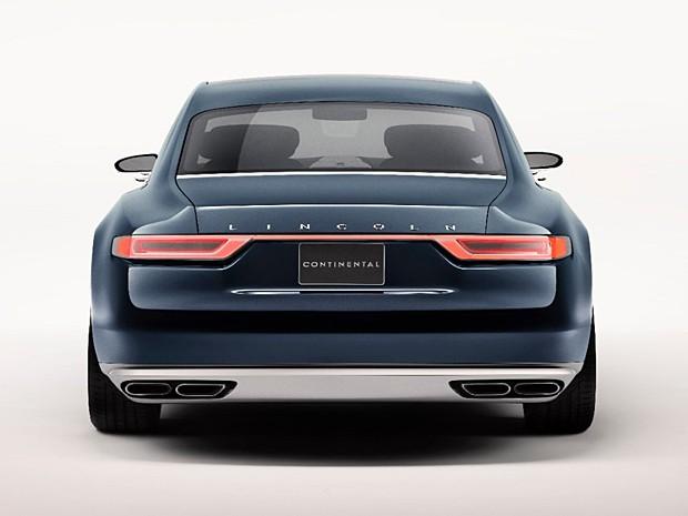 Lincoln Continental Concept (Foto: Divulgação)