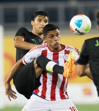 Cristian Colmán Nacional Paraguai São Paulo (Foto: Jorge Martinez/Mexsport/Efe)