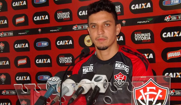 Léo Costa; Vitória (Foto: Divulgação/EC Vitória)