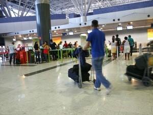 Governdo Federal investem em aeroportos para melhorar logisticia do país.  (Foto: Waldson Costa/ G1)