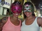 Turistas avaliam positivamente o carnaval (Luka Santos/G1)