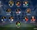Seleção da rodada da Champions tem Thiago Silva, David Luiz e Casemiro