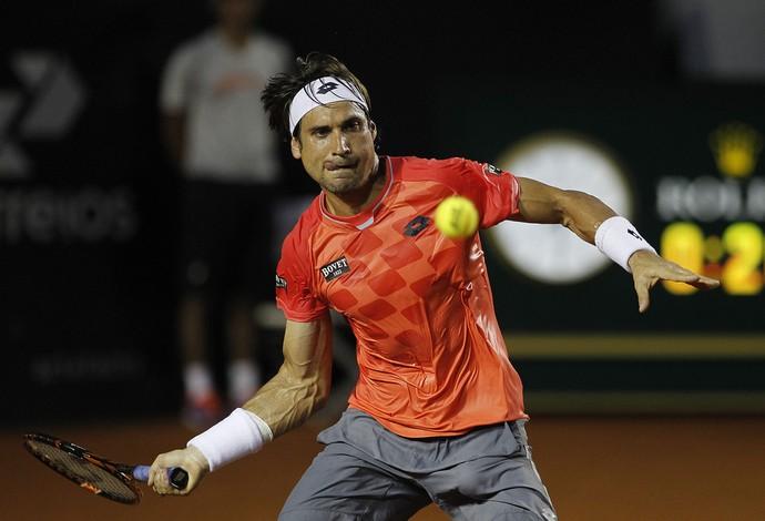 David Ferrer, tênis, Rio Open (Foto: EFE)