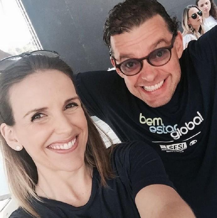 Mariana já passou uma mensagem para Fernando para dizer que está tudo bem! (Foto: Arquivo Pessoal)