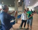 Medalhista olímpico, Wu tenta driblar assédio para acompanhar namorada