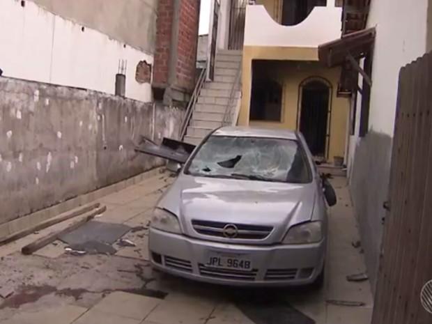 Após morte da idosa, número de vítimas da tragédia subiu para cinco (Foto: Reprodução / TV Bahia)