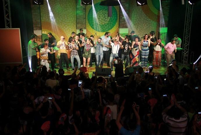 Show do 'Paneiro' reúne 25 artistas que já passaram pelo programa (Foto: Katiúscia Monteiro/ Rede Amazônica)