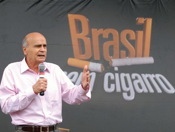Dr. Drauzio Varela esteve em Porto Alegre e participou das ações contra o fumo (Foto: Divulgação Rede Globo)