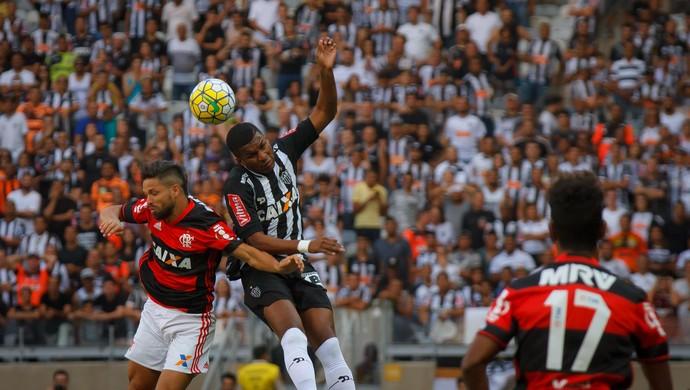 Atlético-MG x Flamengo (Foto: Agência Estado)