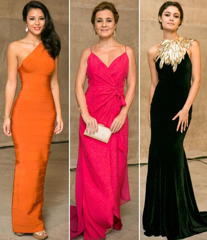 Vestidos de Madrinha (Foto: Ellen Soares/Gshow e Isabella Pinheiro/Gshow)