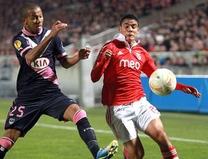 Mariano Bordeux jogo Benfica (Foto: AP)