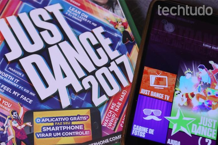 A conectividade dos smartphones com consoles é um pouco complexa em Just Dance 2017   (Foto: João Gabriel Balbi/TechTudo)