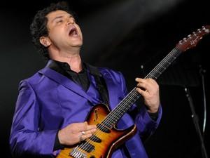 Cantor Frejat apresenta-se no Palco Mundo nesta sexta-feira (20), 5º dia de Rock in Rio. (Foto: Flavio Moraes/G1)