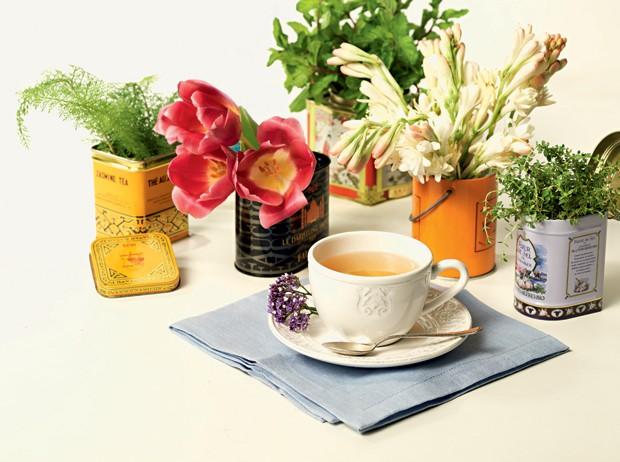 Aproveite a chegada da nova estação e troque o chá por uma tisana, alternativa mais saudável e com benefícios detox e antiestresse (Foto: Marcel Valvassori)