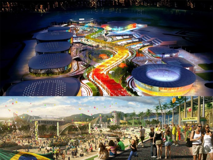Parque Olímpico 2016 (Foto: Divulgação/Empresa Olímpica Municipal )