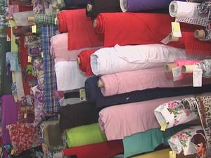 tecido mais caro (Foto: Reprodução TV Acre)