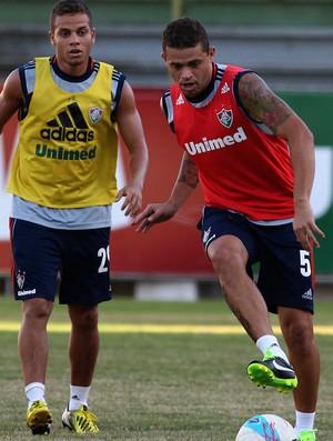 Edinho treino fluminense (Foto: Nelson Perez/Fluminense FC)