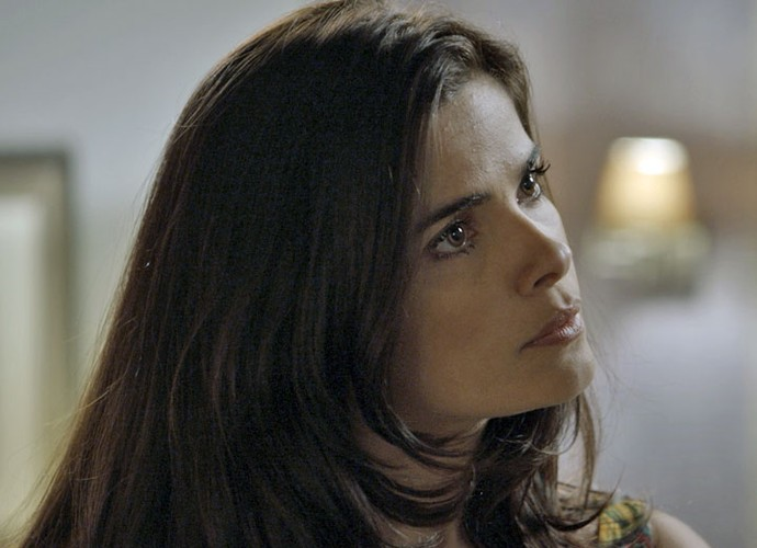 Como será que Tóia vai reagir? (Foto: TV Globo)