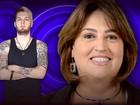 Susi, mãe do Cássio, se diz hiperativa e tímida (BBB / TV Globo)