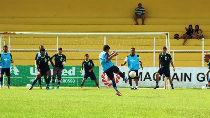 Time sub-19 do Luverdense (Foto: Assessoria/Luverdense Esporte Clube)