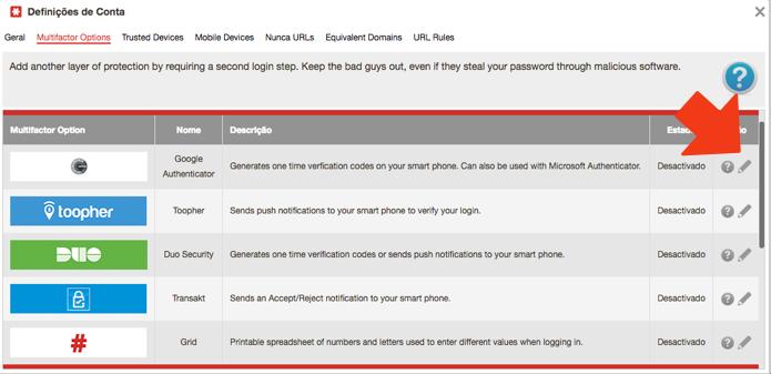 Selecione o Google Authenticator ou outro de sua preferência (Foto: Reprodução/Paulo Alves)