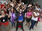 Baile com bloco Seringa Solta reabre centro hospitalar no Rio