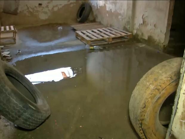 Prédios abandonados abrigam focos do Aedes aegypti em Imperatriz (Foto: Reprodução/TV Mirante)
